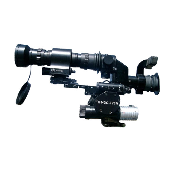 Grenade Launcher Optical Sight MGO-7V with Night Vision Attachment MNV-50
