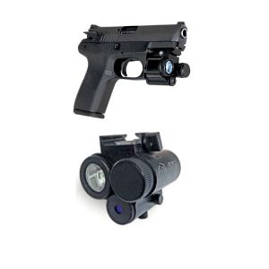 Tactical Laser-Flashlight For Pistols PCP-2