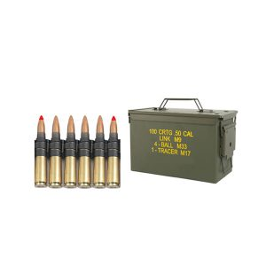 12.7 x 99 mm cartridge M33 with bullet typ