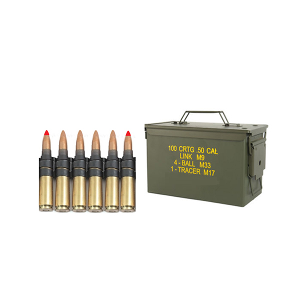 12 7 x 99 mm cartridge M33 with bullet type ball (FMJ)- 4